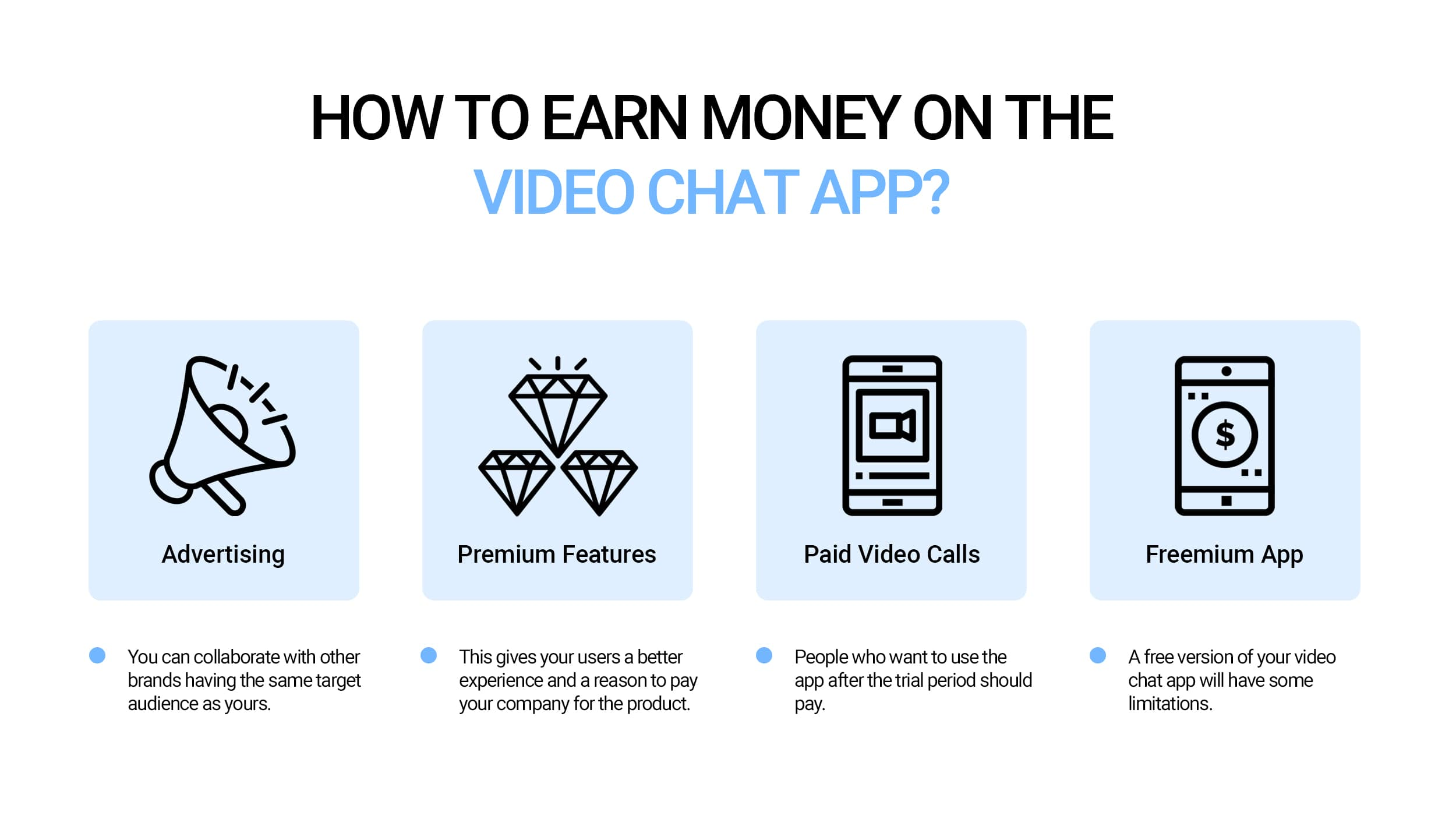 How to earn money on the video caht app