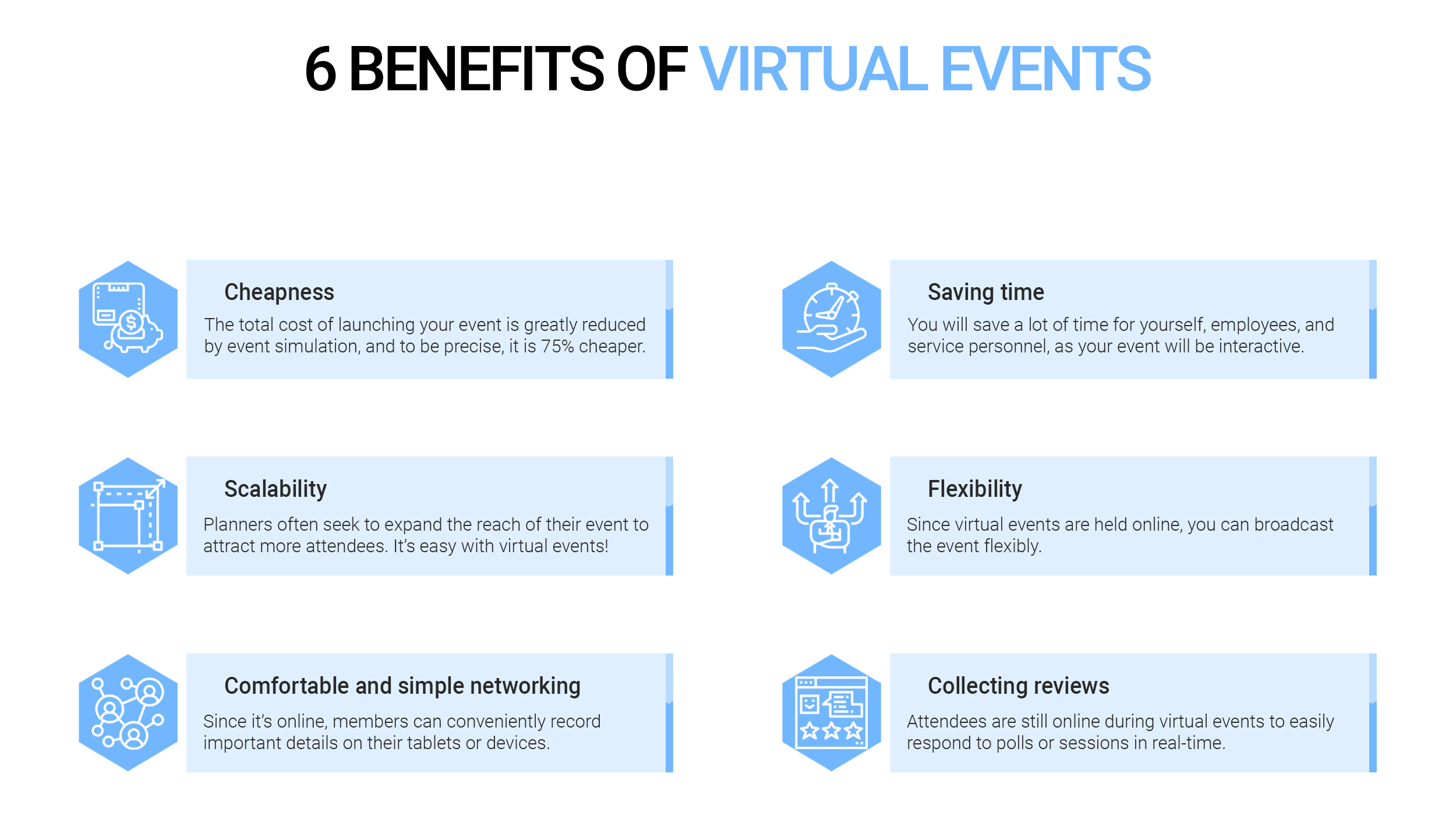 6 Benefits of Virtual Events