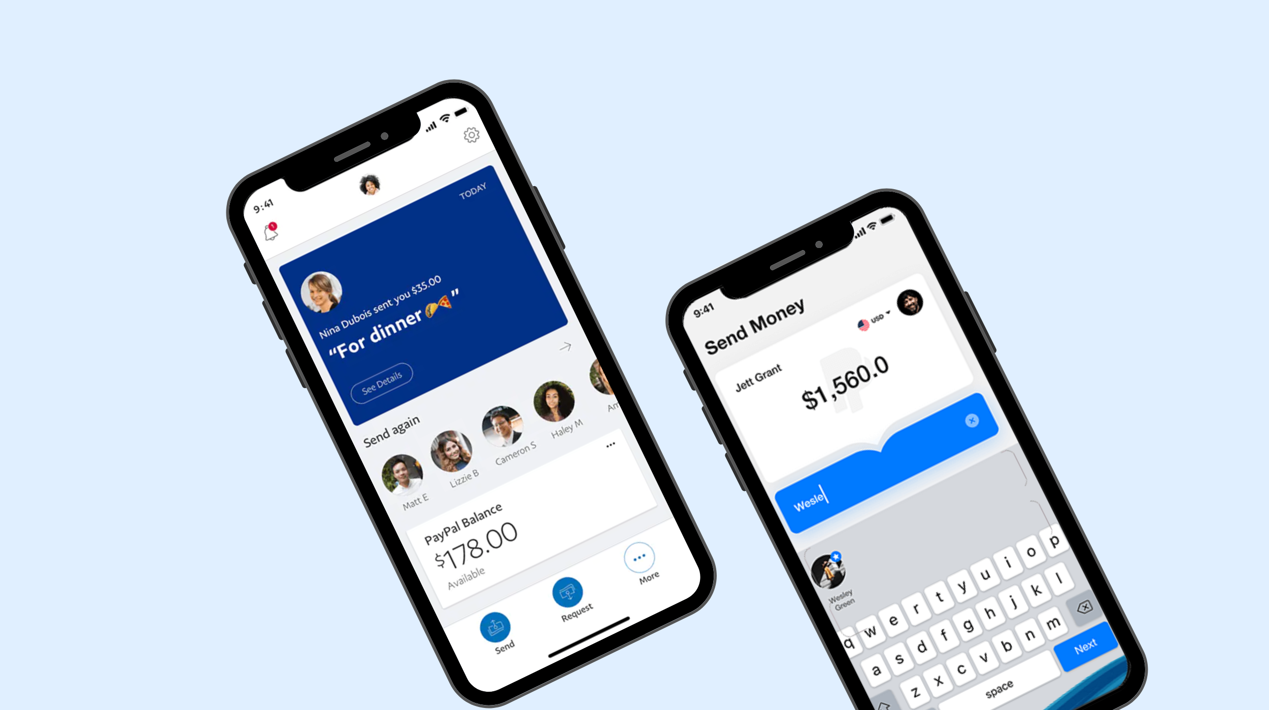Money transfers tofrom a bank accountaging and support
